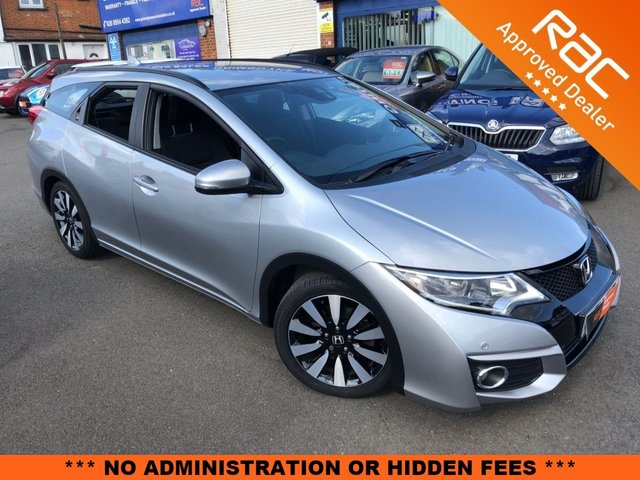 2016 16 HONDA CIVIC 1.8 I-VTEC SE PLUS TOURER 5d AUTO 140 BHP [NAVIGATION]
