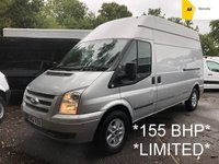 2012 FORD TRANSIT 2.2 TDCi 350 LIMITED LWB H/ROOF 153 BHP*29,000 MILES* £7495.00
