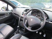 USED 2013 13 PEUGEOT 207 1.6 CC ALLURE 2d 120 BHP FULL SERVICE HISTORY -  BLUETOOTH