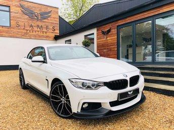 2015 BMW 4 SERIES 3.0 430D M SPORT 2d AUTO 255 BHP £20990.00