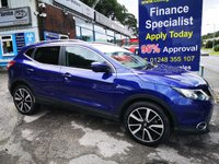 2016 NISSAN QASHQAI 1.5 DCI TEKNA 5d 108 BHP, only 20000 miles, full leather £13795.00