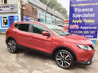 2016 NISSAN QASHQAI 1.5 DCI TEKNA 5d 108 BHP, only 10000 miles, full leather £14495.00