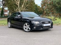 USED 2008 58 AUDI A4 1.8 TFSI S LINE 4d One Former Keeper | FSH
