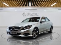 USED 2015 15 MERCEDES-BENZ E CLASS 2.1 E220 BLUETEC SE 4d AUTO 174 BHP **FREE FROM ULEZ CHARGE** Sat Nav   Leathers   Euro 6