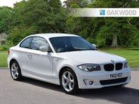 2012 BMW 1 SERIES 2.0 118D SPORT 2d 141 BHP £6495.00