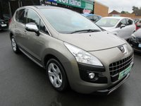 USED 2011 61 PEUGEOT 3008 1.6 EXCLUSIVE E-HDI FAP 5d AUTO 112 BHP **BUY NOW PAY NEXT YEAR**
