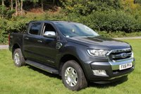 2016 FORD RANGER 3.2 LIMITED 4X4 DCB TDCI 1d AUTO 197 BHP £15000.00