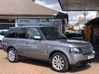 USED 2012 12 LAND ROVER RANGE ROVER 4.4 TDV8 VOGUE SE 5d AUTO 313 BHP Free MOT for Life