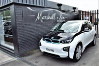USED 2015 15 BMW I3 0.6 I3 RANGE EXTENDER 5d AUTO 168 BHP LOW MILES - ONE OWNER - RANGER EXTENDER - DC RAPID CHARGE - NAV - HEATED SEATS