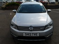 USED 2013 13 VOLKSWAGEN PASSAT 2.0 ALLTRACK TDI BLUEMOTION TECH 4MOTION 5d 139 BHP NO DEPOSIT AVAILABLE, DRIVE AWAY TODAY!!