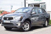 2013 SSANGYONG KORANDO SPORTS 2.0 SX 1d 153 BHP NO VAT ON THIS VEHICLE £7995.00