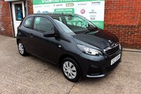 USED 2016 PEUGEOT 108 1.0 ACCESS 3d 68 BHP +ONE OWNER +FREE TAX +ECO CAR.