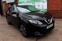 USED 2016 16 NISSAN QASHQAI 1.5 DCI TEKNA 5d 108 BHP +SAT NAV +GLASS ROOF +LEATHER.