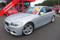 2011 BMW 5 SERIES 3.0 530D M SPORT 4d AUTO 255 BHP £14995.00