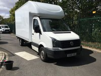 USED 2016 66 VOLKSWAGEN CRAFTER 2.0 CR35 TDI 136 BHP LWB LUTON BOX WITH TAIL LIFT All Vehicles with minimum 6 months Warranty, Van Ninja Health Check and cannot be beaten on price!