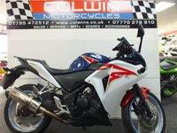 USED 2011 61 HONDA CBR250 249cc CBR 250 R-B  DELKAVIC CAN!!!