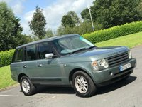 USED 2002 02 LAND ROVER RANGE ROVER 2.9 TD6 HSE 5d AUTO 175 BHP