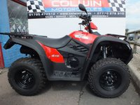 USED 2019 69 KYMCO MXU IRS 500 4WD  BRAND NEW 4WD QUAD!!!