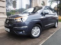 USED 2014 14 SSANGYONG RODIUS TURISMO 2.0 ES 5d 155 BHP ****FINANCE ARRANGED****PART EXCHANGE WELCOME***2KEYS*FULL LEATHER*CRUISE*7SEATS*BLUETOOTH*CD PLAYER*A/C