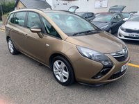 USED 2014 14 VAUXHALL ZAFIRA TOURER 2.0 EXCLUSIV CDTI 5d AUTO 162 BHP OUR  PRICE INCLUDES A 6 MONTH AA WARRANTY DEALER CARE EXTENDED GUARANTEE, 1 YEARS MOT AND A OIL & FILTERS SERVICE. 6 MONTHS FREE BREAKDOWN COVER. CALL US NOW FOR MORE INFORMATION OR TO BOOK A TEST DRIVE ON 01315387070 !!
