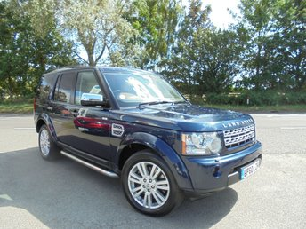 2010 LAND ROVER DISCOVERY 3.0 4 TDV6 HSE 5d AUTO 245 BHP £14995.00
