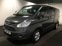 USED 2016 16 FORD TRANSIT CUSTOM 2.2 290 LIMITED LR DCB 1d 124 BHP BUY FOR 54 P/W WITH OUR FINANCE