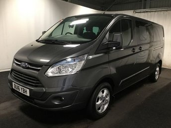 2016 FORD TRANSIT CUSTOM 2.2 290 LIMITED LR DCB 1d 124 BHP £18500.00