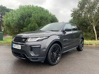 USED 2017 LAND ROVER RANGE ROVER EVOQUE 2.0 TD4 HSE DYNAMIC 5d AUTO 177 BHP LOW MILES 19K 1 OWNER FSH TOP SPEC PAN ROOF SAT NAV REV CAMERA PREMIUM CIRRUS LEATHER L/R WARRANTY