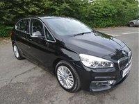 2015 BMW 2 SERIES 2.0 218D LUXURY ACTIVE TOURER 5d 148 BHP £8890.00
