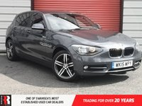 USED 2015 15 BMW 1 SERIES 2.0 118D SPORT 5d 141 BHP Isofix Rear Child Seat Preparation