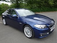 2015 BMW 5 SERIES 2.0 520D LUXURY 4d AUTO 188 BHP £10990.00