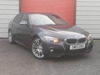 2013 BMW 3 SERIES 2.0 320D M SPORT 4d 181 BHP £11995.00