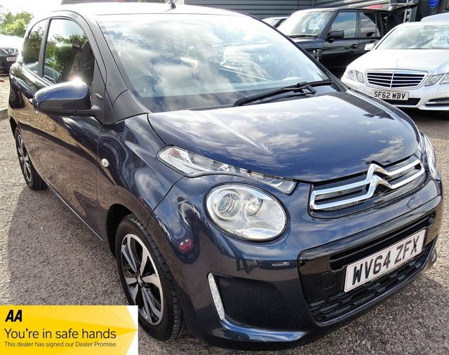 USED 2014 64 CITROEN C1 1.2 FLAIR 3d 82 BHP LOW MILEAGE SERVICE HISTORY 1 PREVIOUS KEEPER