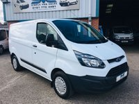 2015 FORD TRANSIT CUSTOM 290 125BHP SWB LOW ROOF 1 OWNER FULL SERVICE HISTORY £7995.00