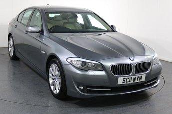 2011 BMW 5 SERIES 2.0 520D SE 4d 181 BHP £7495.00