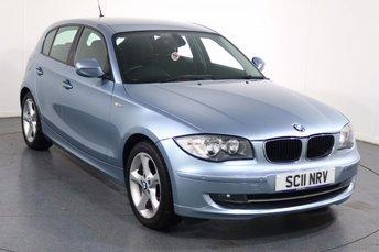 2011 BMW 1 SERIES 2.0 116I SPORT 5d 121 BHP £5995.00