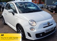 USED 2013 63 ABARTH 500 1.4 ABARTH 3d 135 BHP ABARTH SERVICE HISTORY ONE OWNER FROM NEW LOW MILES, RARE MILEAGE!