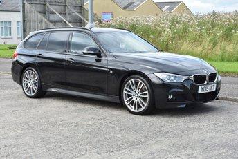 2015 BMW 3 SERIES 2.0 320D M SPORT TOURING 5d AUTO 181 BHP £14990.00
