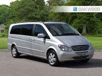 2010 MERCEDES-BENZ VIANO 2.1 CDI EXTRA LONG AMBIENTE 5d AUTO 150 BHP £9995.00