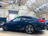 USED 2015 15 BMW 4 SERIES 3.0 435d M Sport xDrive 2dr PERFORMANCE KIT 19s HK