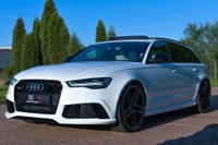 USED 2015 15 AUDI RS6 4.0 TFSI V8 Avant Tiptronic quattro (s/s) 5dr CAMERA+PAN ROOF+SPORT EXHAUST