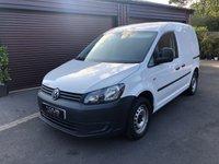 USED 2014 64 VOLKSWAGEN CADDY VW Caddy 1.6 C20 Tdi Startline 101ps No VAT Low Deposit Finance Arranged