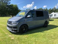 USED 2018 67 VOLKSWAGEN TRANSPORTER VW T6 Transporter 67reg 150ps 6sp manual Pure Grey Custom Kombi