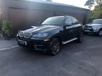 USED 2013 63 BMW X6 BMW X6 63reg 3.0 M50d Auto 376bhp Black with Black leather Finance arranged with low deposit HP and PCP plans available