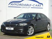 USED 2014 64 BMW 5 SERIES 3.0 530D M SPORT 4d AUTO 255 BHP