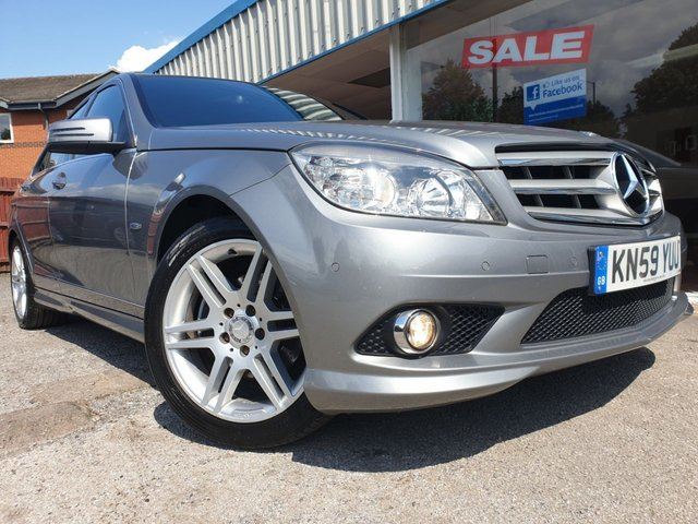 Mercedes-Benz C Class C220 CDI Blueefficiency Sport £7,250