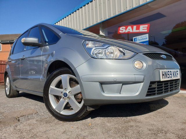 USED 2009 59 FORD S-MAX 2.0 TITANIUM TDCI 5d 143 BHP 7 SEATS, PARKING SENSORS, FOGS