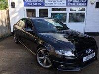 2012 AUDI A4 2.0 TDI BLACK EDITION 4d 168 BHP £11495.00
