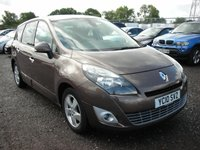 USED 2010 10 RENAULT GRAND SCENIC 1.5 DYNAMIQUE TOMTOM DCI 5d 105 BHP 1 Previous owner - Sat nav - 7 Seater