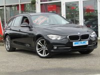 "USED 2016 16 BMW 3 SERIES 2.0 318D SPORT TOURING 5d AUTO 148 BHP STUNNING, 1 OWNER, £20 ROAD TAX, BMW 3 SERIES 2.0D SPORT TOURING 148 BHP. Finished in BLACK SAPHIRE with HEATED RED LEATHER trim. This BMW is practical, economical and pretty good fun to drive. It packs a punch and with features that include SAT NAV, HEATED LEATHER SEATS, B/TOOTH, 18"" ALLOYS, REAR PARK SENSORS it's a must have prestige family estate. ONLY £30 Road Tax. It has been well maintained and DEALER SERVICED at 24022 miles, 45933 miles, 63863 miles and recently at 81016 miles"